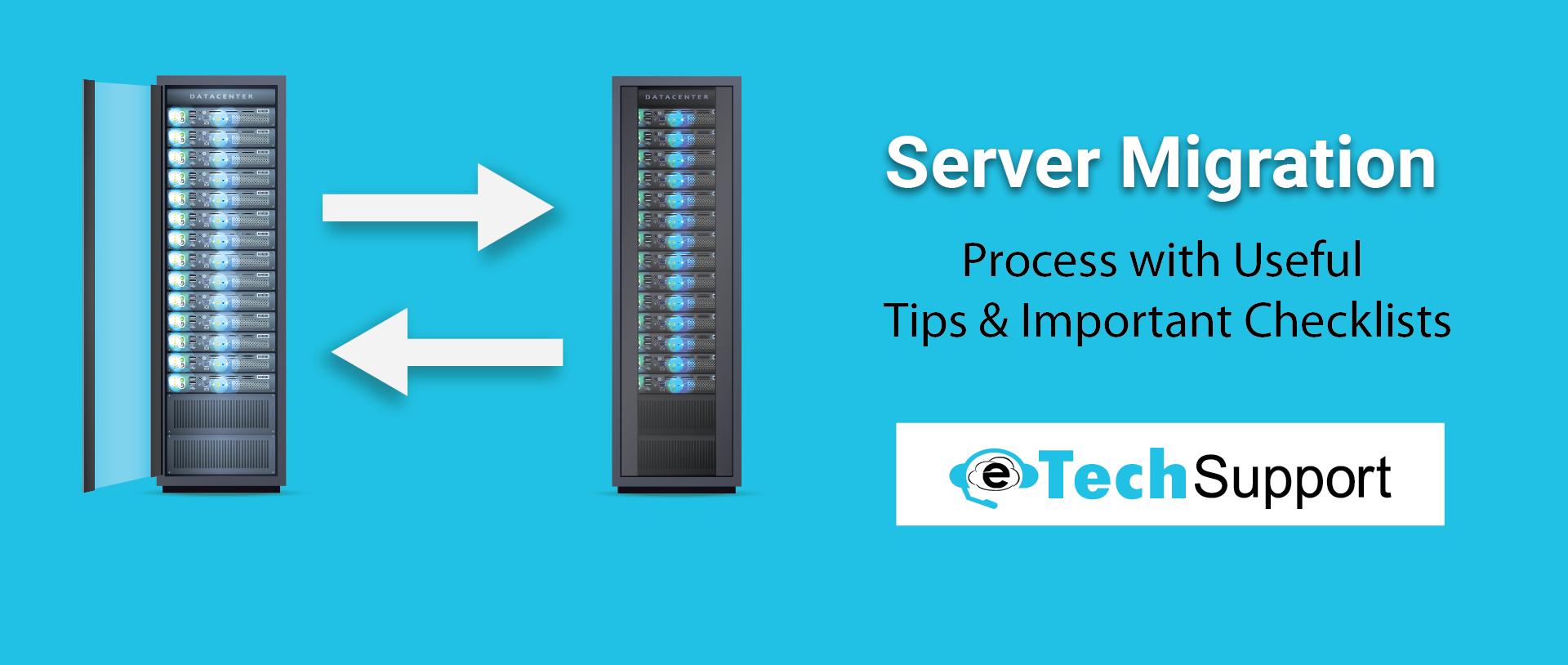 Server Migration Process with Useful Tips and Important Checklists