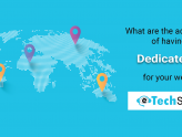What are the advantages of having a dedicated IP for your website